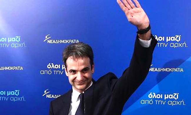 Kyriakos primeiro ministro grego