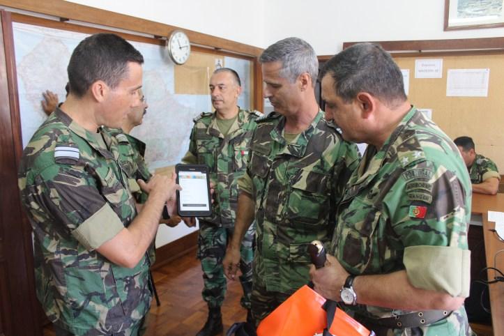 Militares treino A