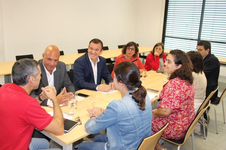 Reunião PS sindicato dos professores