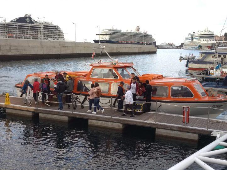 Porto do Funchal desembarque C