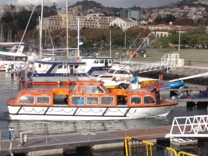 Porto do Funchal desembarque F