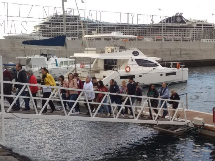 Porto do Funchal desembarque