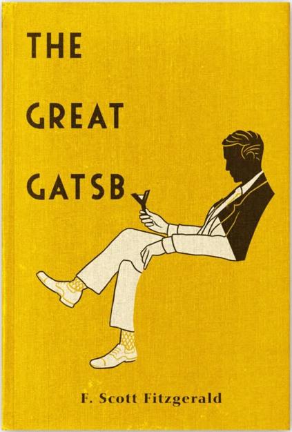 Resultado de imagen de el gran gatsby portada