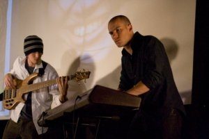 Chris Glanville and Lee Walker on bass and keys