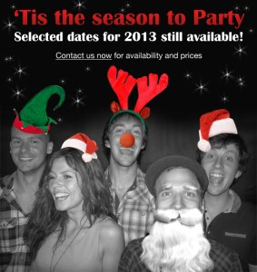Christmas Party Band - Selected dates still available for 2013!