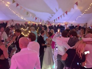 Bride and Groom Dance Floor