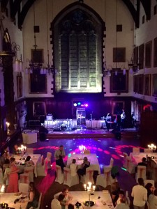 Durham Castle Wedding Live Music Stage
