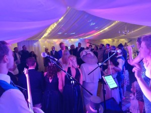 First Dance Live Music Wedding Leeds Tynemouth Priory Marquee