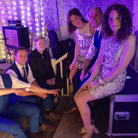 Wedding Band Leeds Behind the Scenes East Riddlesden Live Music Entertainment
