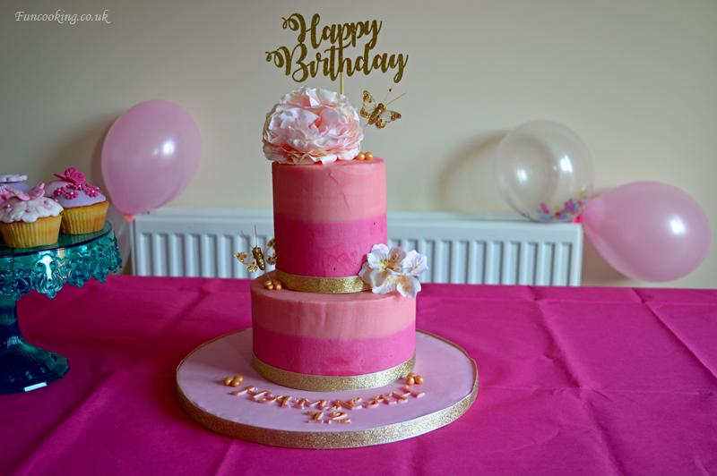 Girls Birthday Cake Fun Cooking
