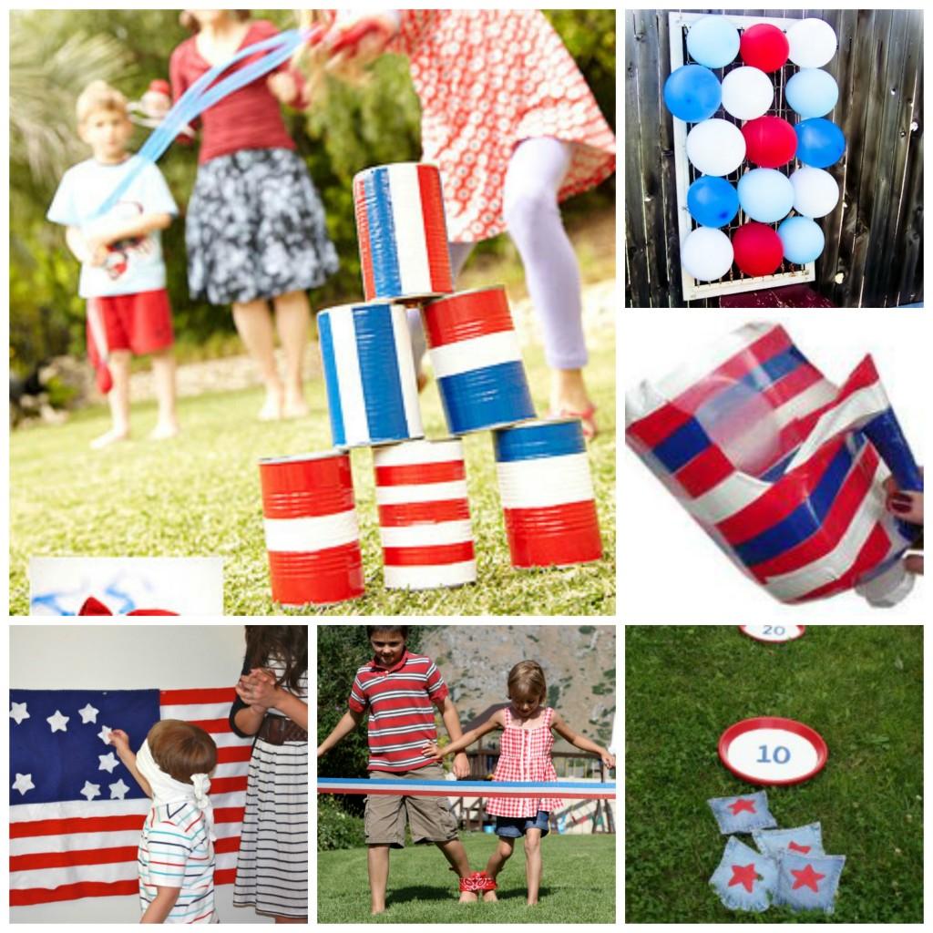 Patriotic 4th July Games