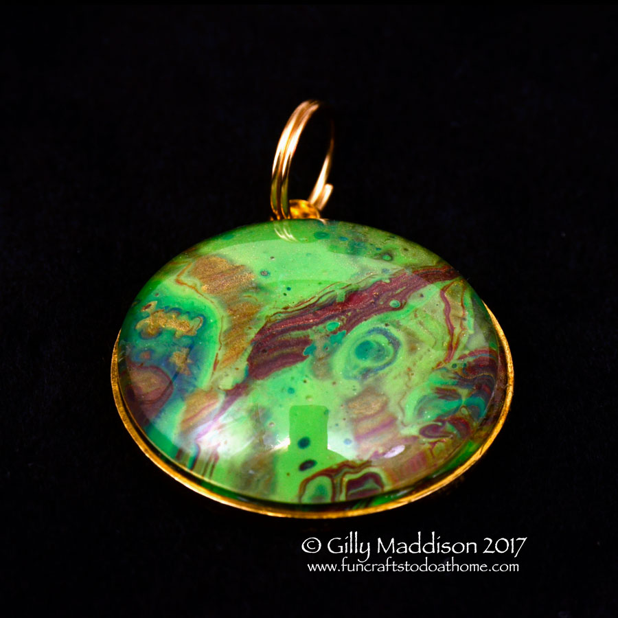 Make Stunning Jewellery From Bad Acrylic Paintings!