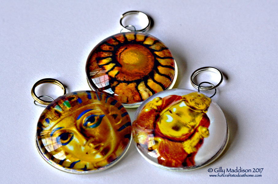Easy To Make Glass Pendants – No Bezel or Tray Needed!