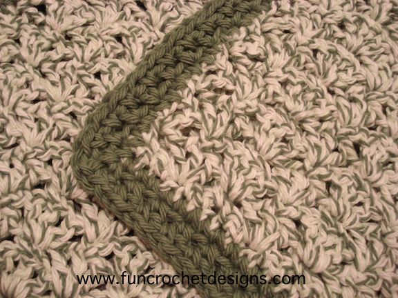 Staggered Shells Dishrag