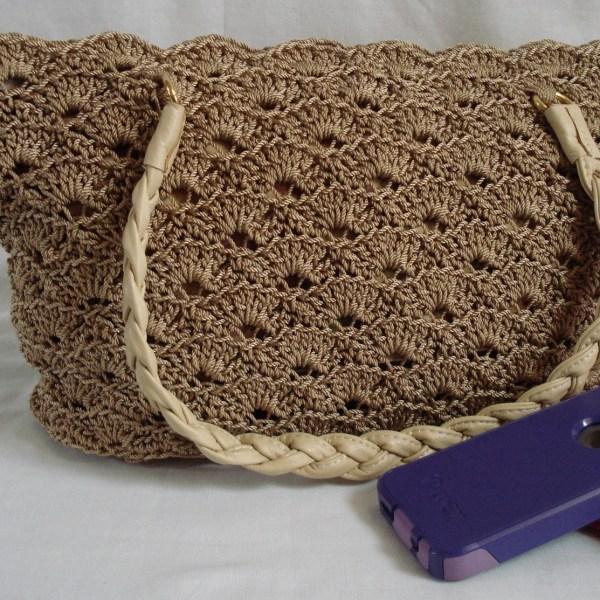 Rippled Shells Crocheted Purse Pattern