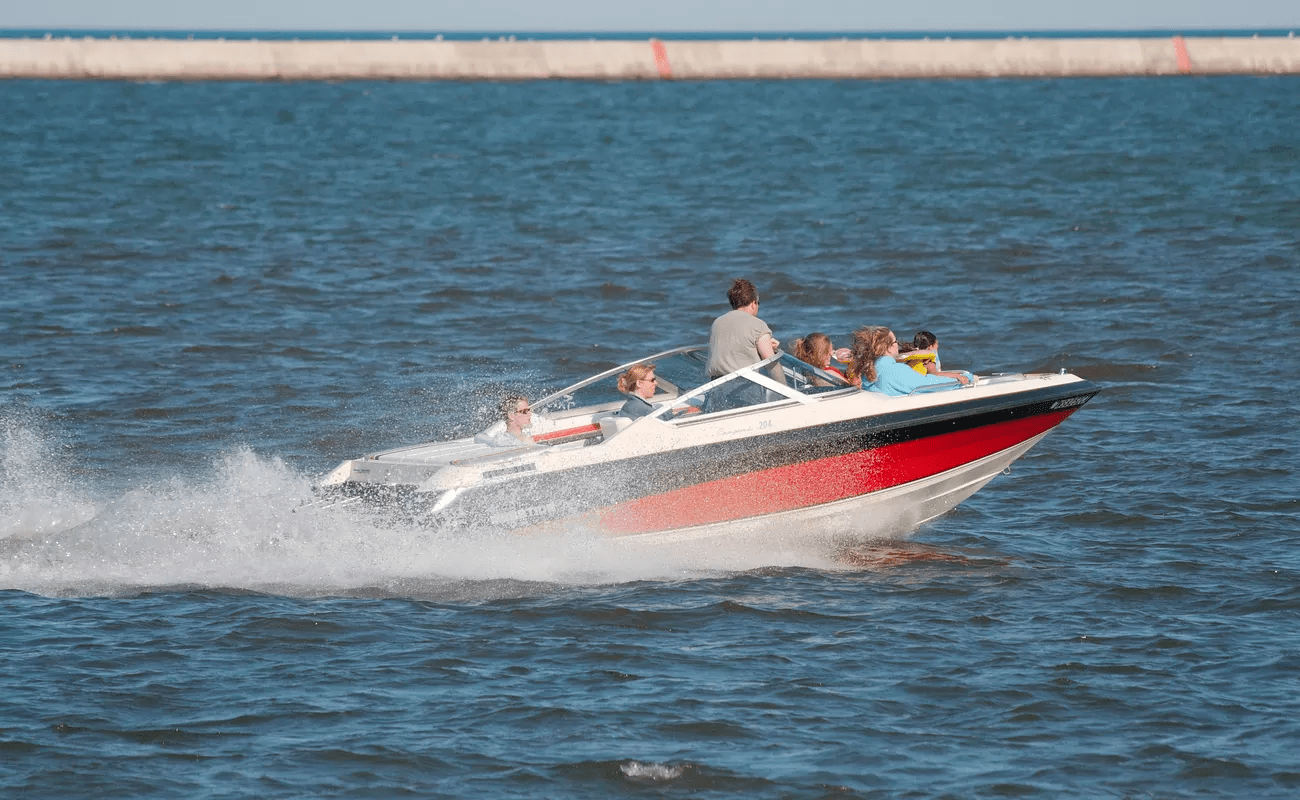 Speeding on a Speedboat
