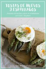 Tostas De Huevos Y Espárragos Desayuno Sin Harinas Ni Carbohidratos