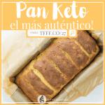 Pan Cetogénico sin Harina, sin Gluten ¡La Receta Más Auténtica!