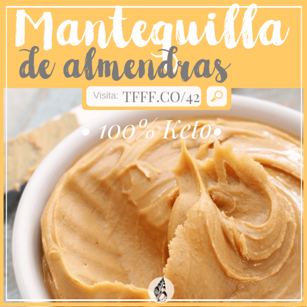 mantequilla de almendras keto | dieta cetogenica functional female force