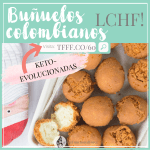 DIETA CETOGÉNICA: BUÑUELOS COLOMBIANOS | RECETAS DE NAVIDAD COLOMBIA