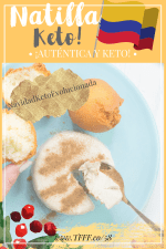 KETO NATILLA COLOMBIANA!! RECETA DIETA CETOGENICA SIN AZUCAR | LCHF
