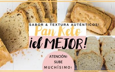 PAN KETO, SIN GLUTEN, LOW CARB: EL MEJOR PAN DEITA CETOGÉNICA