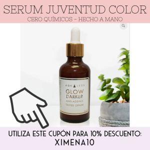 serum maquillaje sin quimicos toxico Ximena de la Serna
