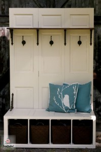 Funcycled 187 File Cabinet Turned Mud Room Bench Tuesday S