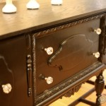 Repurposed Antique Buffet Into Kitchen Island Tuesday S Treasures Funcycled
