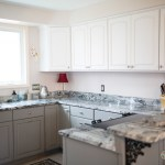 Two Toned Kitchen Cabinet Painting Funcycled