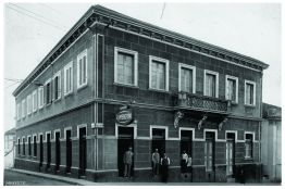 Câmara Municipal – patrimônio histórico de Varginha/MG desde 2000. Construção 1882.