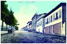 Antigo Largo da Matriz – atual Praça Governador Benedito Valadares. Início do séc. XX.