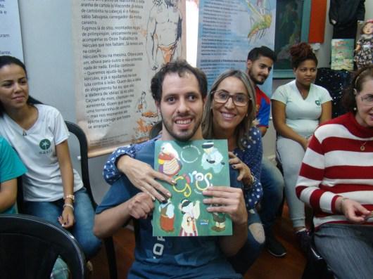 Contação de histórias para alunos da Oásis (foto Agnaldo Montesso 09-04-2019) (4)