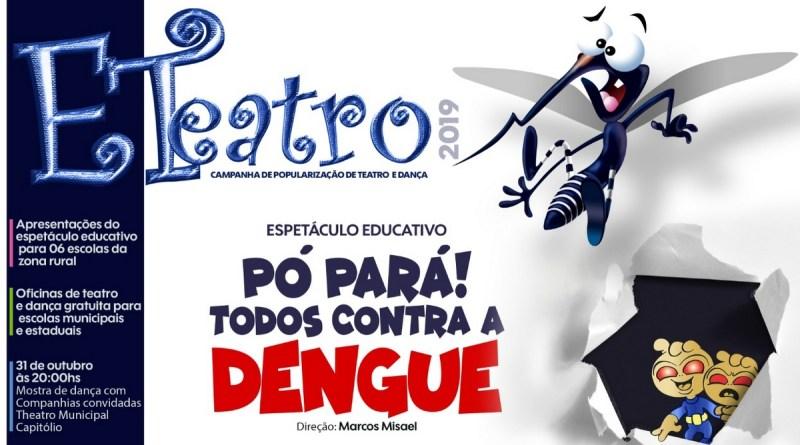 Projeto ETeatro leva teatro educativo para escolas da zona rural de Varginha