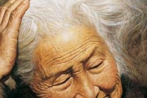 Li Zijuan, un mestre xinès del retrat, residents als Estats Units expressa amb els seus pinzells la vellesa amb realisme.