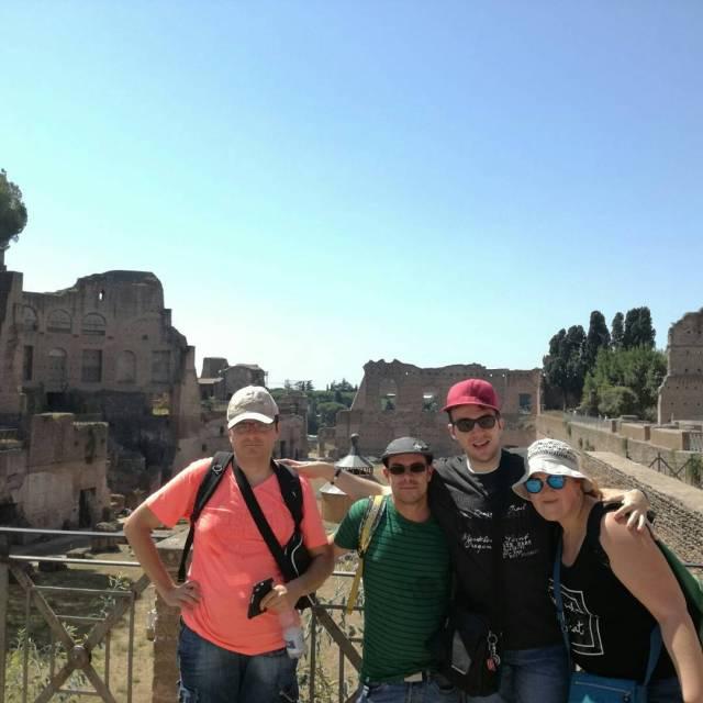 El grup sarau de casalfriends ja s a Roma! estiu2017hellip