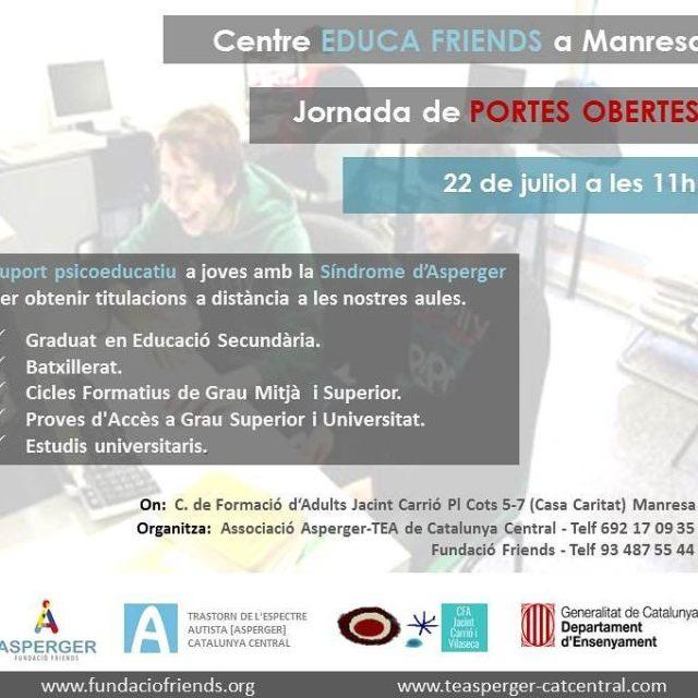 Dem portes obertes del nou centre Educafriends a Manresa! educafriendshellip