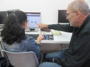 Joan Vila voluntari a Educafriends
