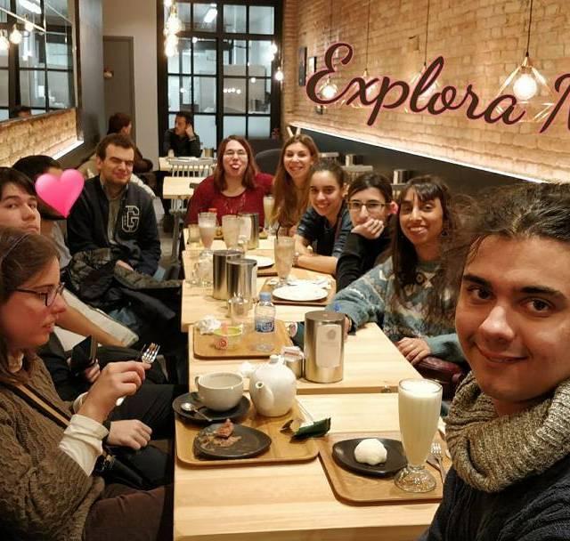 El grup Explora de Casal Friends de Takashi ochiai assembleahellip
