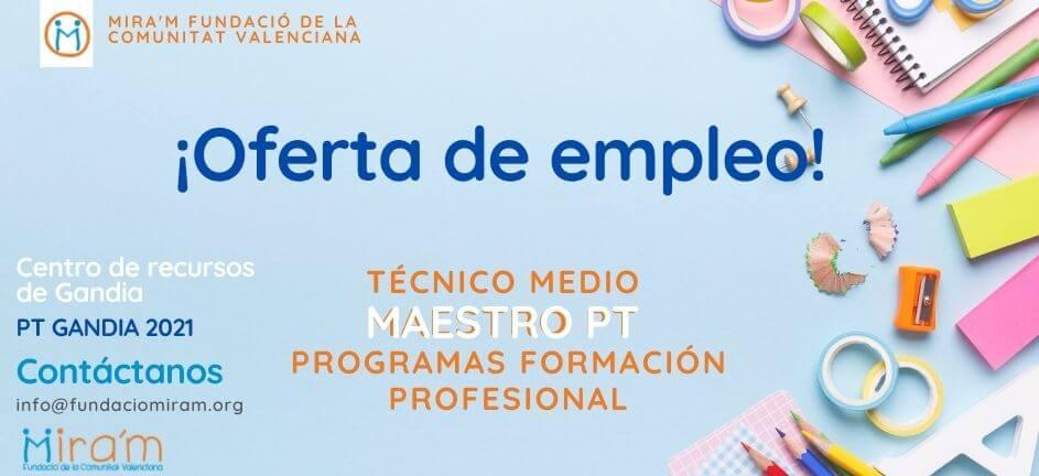 Oferta_Empleo_Maestro_PT_Gandia