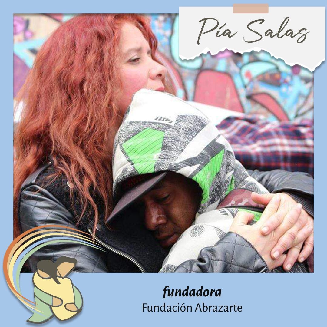 Pía Salas Directora Fundación Abrazarte Personas que Inspiran