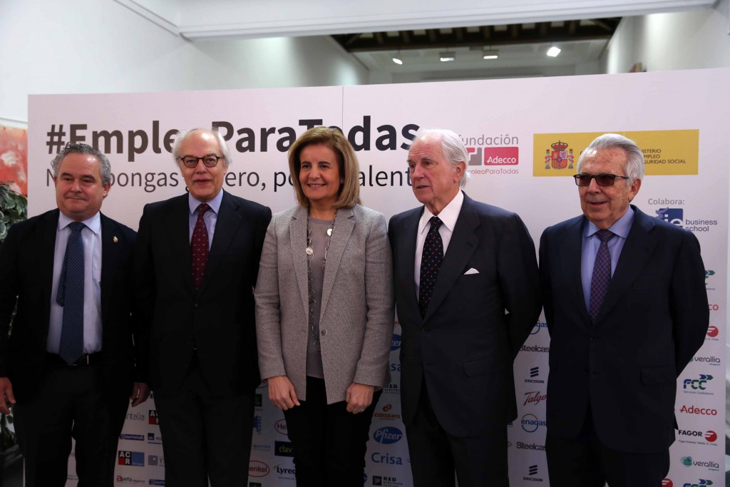 """El Ministerio de Empleo apoya la campaña """"No le pongas género, ponle talento"""""""