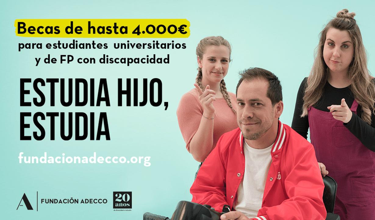 Becas Fundación Adecco 2019