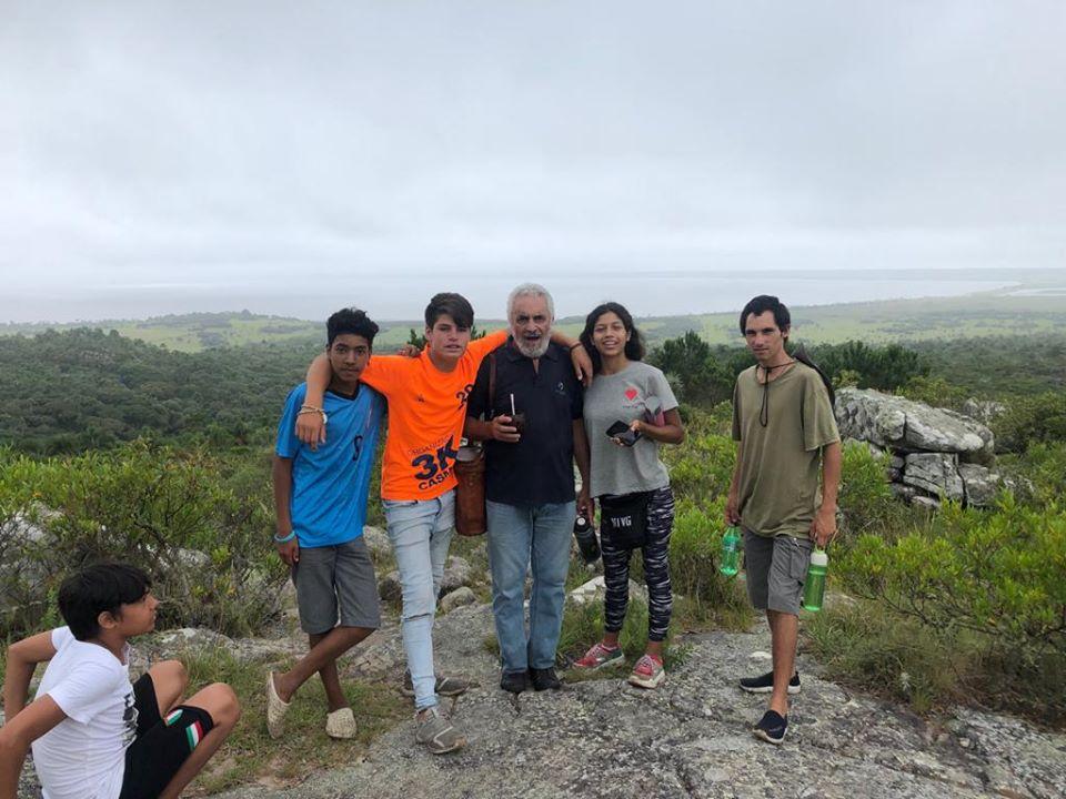 Campamento Laguna Negra 2020