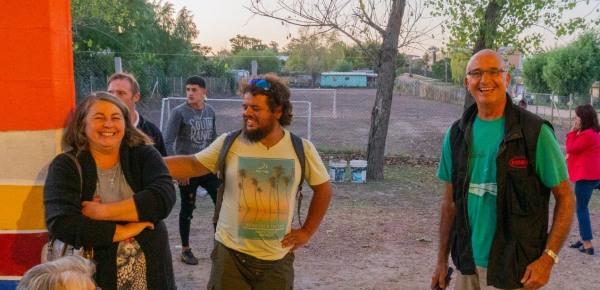 Entrevista a minga de Andares radio TV