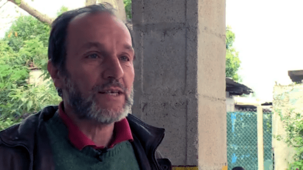 Carlos Garré, educador de proyecto Minga