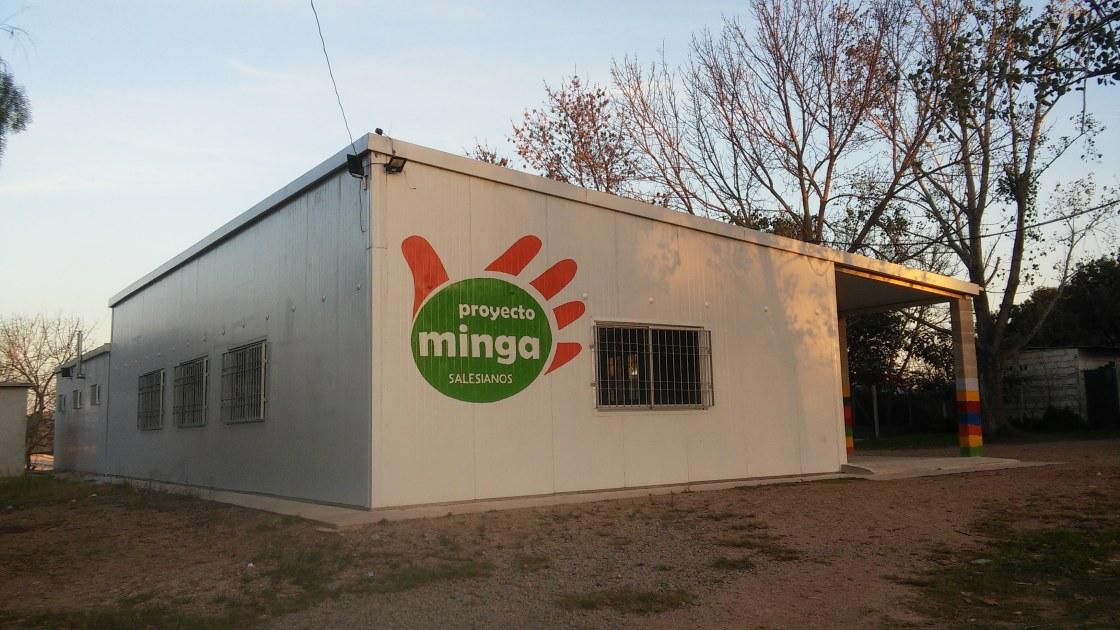 Casa del proyecto Minga.
