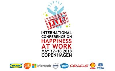 Fundación Hospital Optimista Participará en Happiness at work en Copenhagen