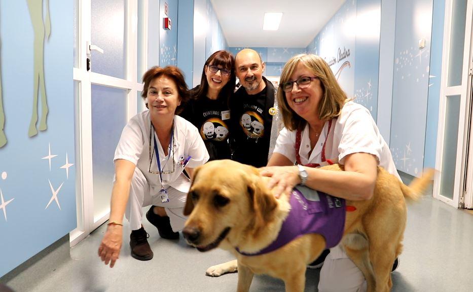 Olfateando con magia transforma el Hospital Clínico San Carlos