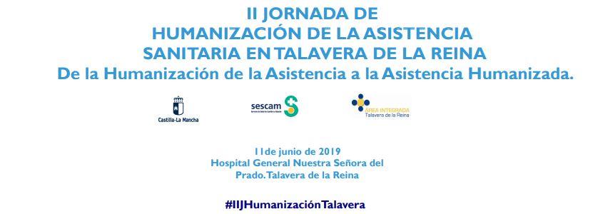 11 jun: II Jornada de Humanización en Talavera de la Reina